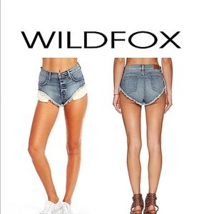 Wildfox Beach Butt Shorts 30in